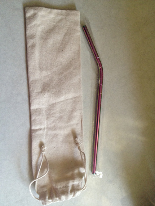 Single Stainless Steel Straw